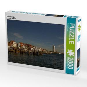 CALVENDO Puzzle Travemünde 2000 Teile Lege-Größe 90 x 67 cm Foto