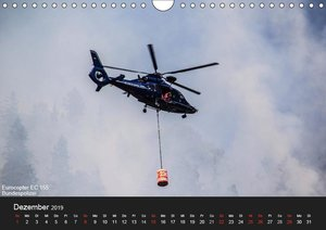 Hubschrauber im Einsatz (Wandkalender 2019 DIN A4 quer)