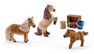 Schleich 41432 Shetland Pony Familie