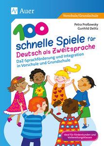 100 schnelle Spiele für Deutsch als Fremdsprache