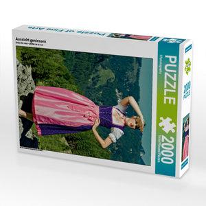 Aussicht geniessen 2000 Teile Puzzle hoch