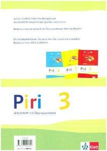 Piri Das Sprach-Lese-Buch. Arbeitsheft Druckschrift mit CD-ROM 3
