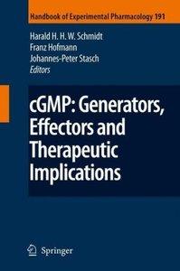 cGMP: Generators, Effectors and Therapeutic Implications