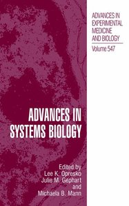 Advances in Systems Biology