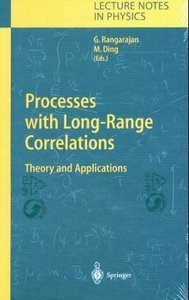 Processes with Long-Range Correlations