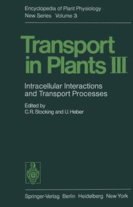 Transport in Plants III