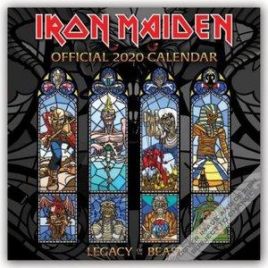 Iron Maiden 2020 - 18-Monatskalender