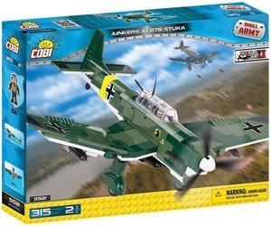 COBI 5521 - Junkers JU 87B Stuka, Small Army, grün