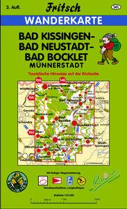 Bad Kissingen, Bad Neustadt, Bad Bocklet 1 : 35 000. Fritsch Wan