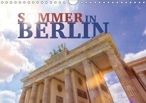 SOMMER IN BERLIN (Wandkalender 2019 DIN A4 quer)