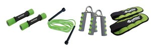 Schildkröt Fitness 960029 - Fitness Set, limegreen, anthrazit