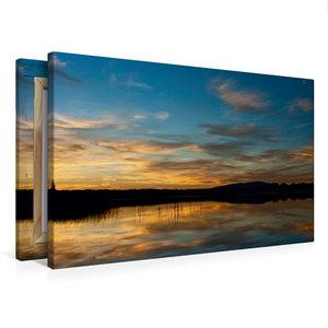 Premium Textil-Leinwand 75 cm x 50 cm quer Reflections