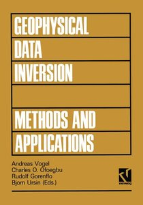 Geophysical Data Inversion Methods and Applications