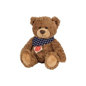 Teddy Hermann 91366 - Teddy braun, sitzend, 38 cm, Plüschtier, B
