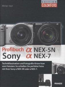 Profibuch Sony alpha NEX-7 und NEX-5N