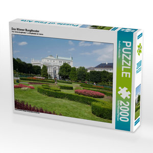 CALVENDO Puzzle Das Wiener Burgtheater 2000 Teile Lege-Größe 90