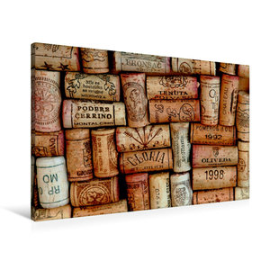 Premium Textil-Leinwand 90 cm x 60 cm quer Erinnerung an genussr