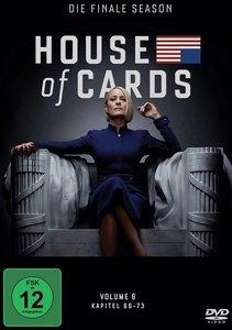 House of Cards - Die finale Season. Staffel.6, 3 DVD