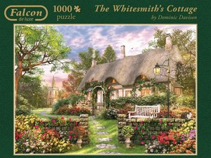 Falcon - The Whitesmith's Cottage. Puzzle 1000 Teile