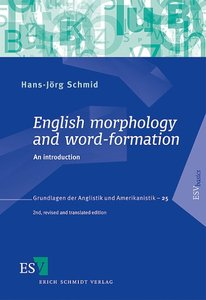 English morphology and word-formation