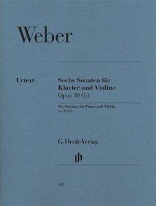 6 Sonaten für Klavier und Violine op. 10 (b)