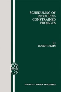 Scheduling of Resource-Constrained Projects