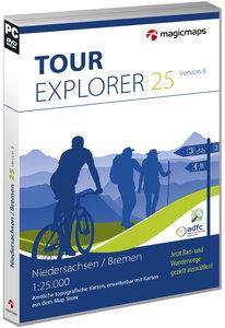 TOUR Explorer 25 Niedersachsen, Bremen, Version 8.0