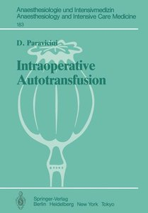 Intraoperative Autotransfusion