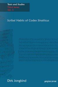 Scribal Habits of Codex Sinaiticus