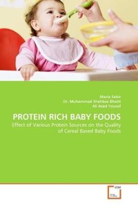 PROTEIN RICH BABY FOODS