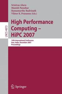 High Performance Computing - HiPC 2007