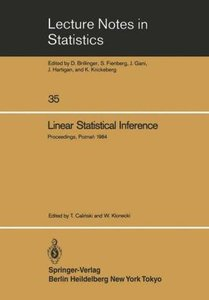 Linear Statistical Inference