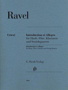 Introduction et Allegro für Harfe, Flöte, Klarinette und Streich