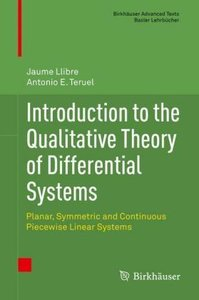 Introduction to the Qualitative Theory of Differential Systems