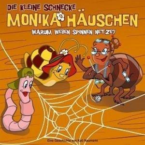 Die kleine Schnecke Monika Häuschen 09. Warum weben Spinnen Netz