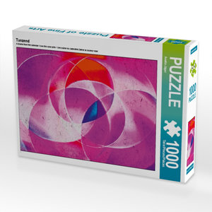 Tanzend 1000 Teile Puzzle quer