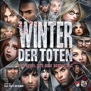 Heidelberger Spieleverlag HE735 - Winter der Toten, Spiel mit de