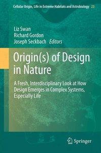 Origin(s) of Design in Nature