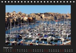 MALTA & GOZO - Kulturelle Schätze im Mittelmeer (Tischkalender 2