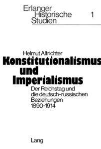 Konstitutionalismus und Imperialismus