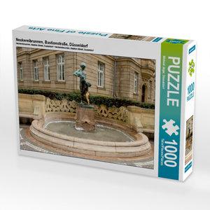 Neckereibrunnen, Bastionstraße, Düsseldorf 1000 Teile Puzzle que