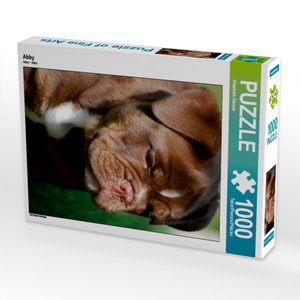 Abby 1000 Teile Puzzle hoch