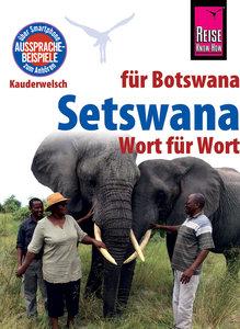 Reise Know-How Sprachführer Setswana - Wort für Wort (für Botswa