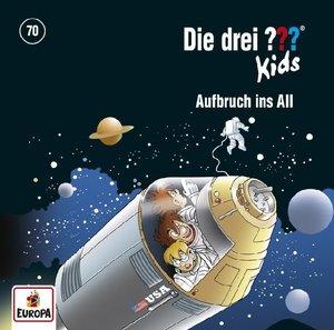 Die drei ??? Kids 70: Aufbruch ins All, 1 Audio-CD