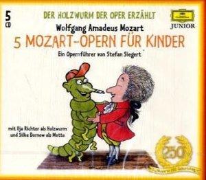 5 Mozart-Opern für Kinder