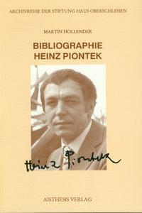 Bibliographie Heinz Piontek