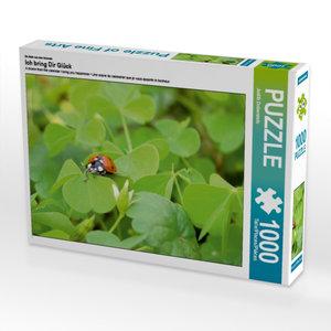 Ein Motiv aus dem Kalender Ich bring Dir Glück 1000 Teile Puzzle