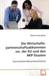 Die Wirtschaftspartnerschafts-abkommen zw. der EU undden AKP-Sta