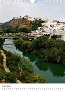 Andalusien - Das Land der weißen Städte und Dörfer (Wandkalender