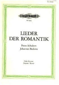 Lieder der Romantik, hohe Stimme und Klavier
